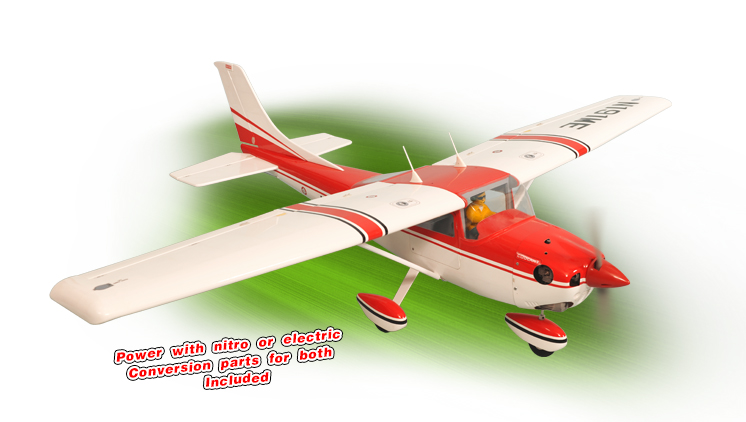PH059 – CESSNA SKYLANE 182 GP/EP SCALE 1:6 ½ ARF .46-.55