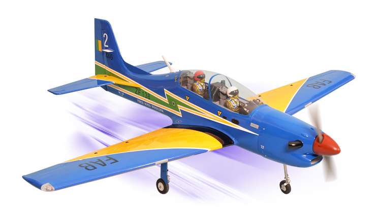 PH162 - TUCANO 30-35CC GP/EP SCALE 1:5 ½  ARF