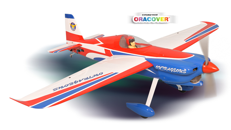 PH165– OUTRAGEOUS GP/EP Size 50- 60CC ARF