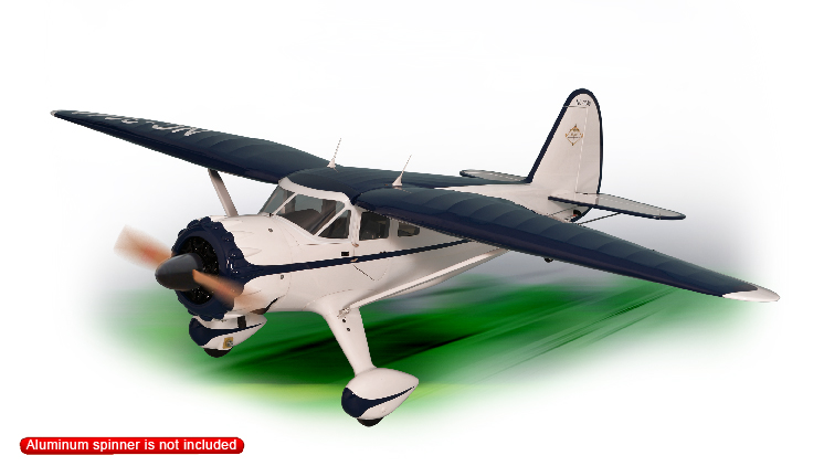PH180– STINSON RELIANT GP/EP Size 30/35cc Scale 1:5 ¾   ARF