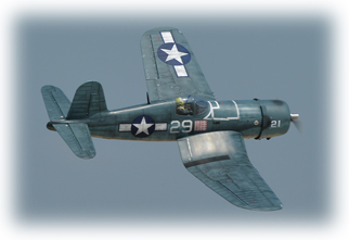 PH201 – F4U CORSAIR  60CC GP/EP SCALE 18% ARF